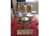 Mason drink jars