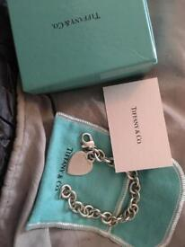 genuine tiffany bracelet
