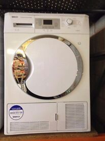 BEKO 8KG CONDENSER DRYER B ENERGY RATING WHITE RECONDITIONED