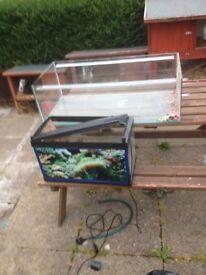2x fish tanks