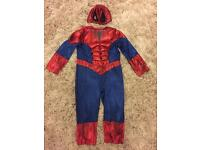 Spider-Man/Marvel dressing up/fancy dress costume for 3-4 years