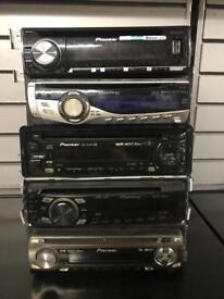 CAR CD PLAYERS (KENWOOD / SONY / PIONEER) (£10 EACH)