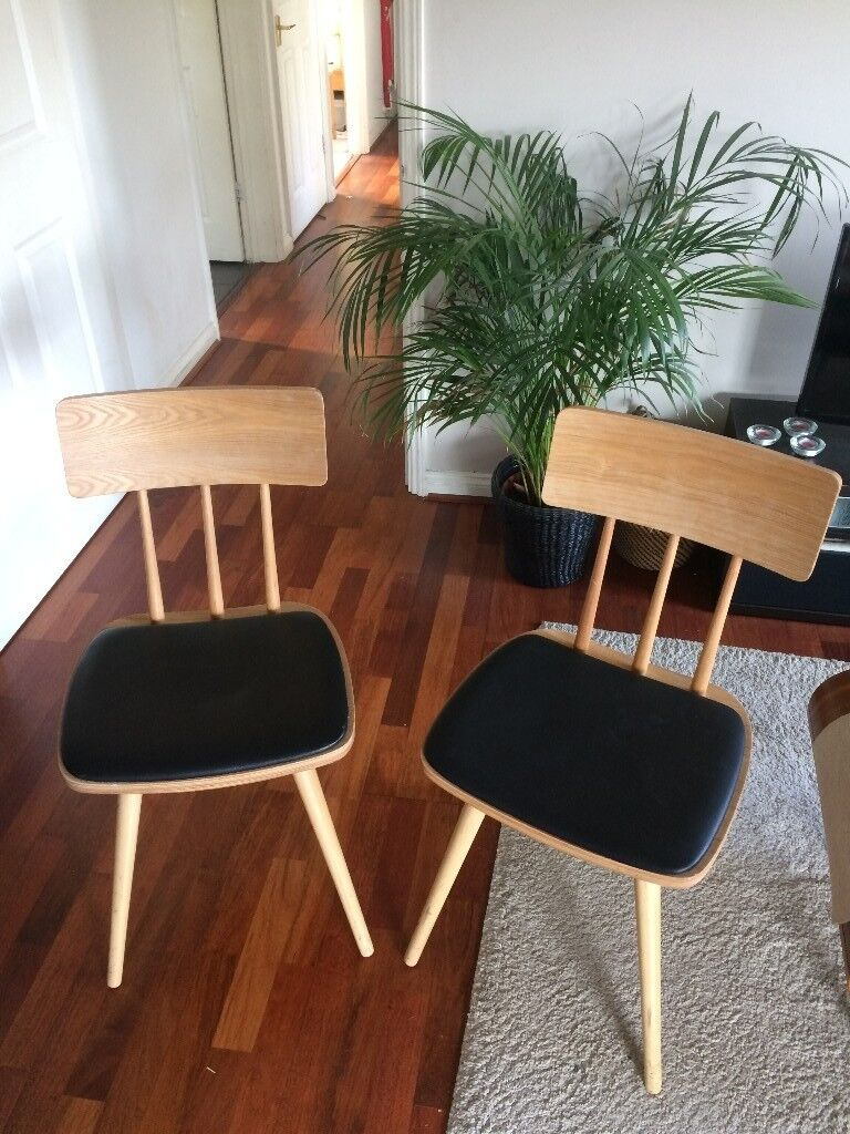 Pair of Kitson Dining Chairs (excellent condition)