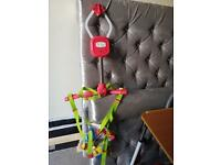Adapted Portable Swing for toddlers!