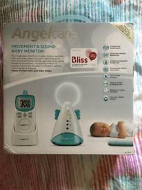 Anglecare breathing movement and sound monitor
