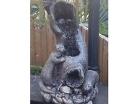Otter water feature