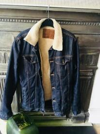 Denim Jacket (Sleeve Lining) Size M