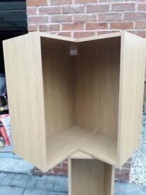 Cooke and Lewis tall kitchen corner unit 62mm, oak effect