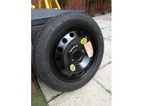 Bmw e46 3 series 98-05 Space saver tyre