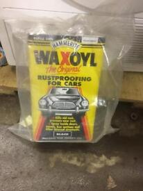 Waxoyl black rustproofing for cars, 5 litres