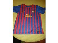 BARCELONA football kit Age 7-8 years