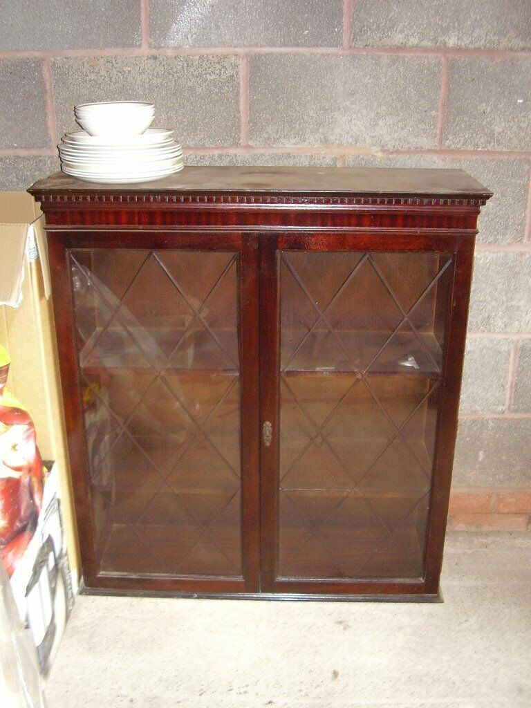 Tremendous Glass Fronted Display Cabinet In Hollywood West Midlands Gumtree Home Interior And Landscaping Palasignezvosmurscom