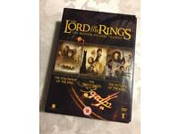 DVDs - The Lord Of The Rings Trilogy