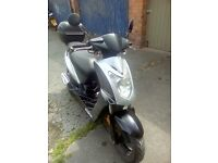 Kymco 50cc with 80cc kit fitted