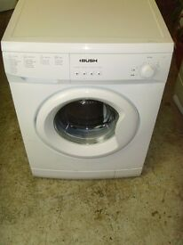 Bush Washing Machine. Good Condition. 6 Month Warranty. Delivery Arranged**