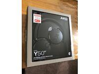AKG Y50 on ear Bluetooth headphones