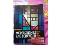Microeconomics and Behaviour by Frank and Cartwright