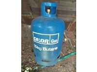 Calor 15kg Butane gas bottle - used & empty