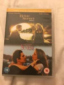Before sunrise/After Sunset movie Cd