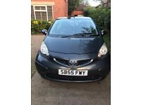 Superior diesel Toyota Aygo with very low mileage in excellent condition