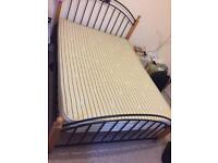 DOUBLE BED WITH REALLY COMFY MATTRESS