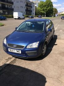 Blue Ford Focus 5dr 1798cc Petrol 2007