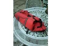 Dog life jacket, jack russell size!