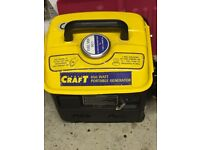 Portable Generator 650Watt 25v output 13 Amp socket output