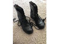 Size 8 combat boots