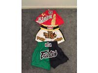 Boxing shorts Duo Gear, Twins, Fairtex & Raja