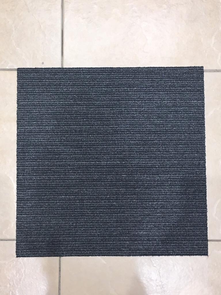 Premium Grey Carpet Tiles £1 each large quantity available Bristol