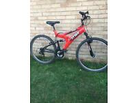 Adults Gents Suspension Mountain Bike