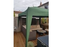 Fantastic Pop Up Gazebo 3mtr x 3mtr in green