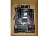 AMD Fx8350 Black Edition with MSI 970 Motherboard and 16GB Ram