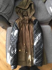 Girls new look coat