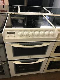 55CM WHITE ELECTRIC COOKER