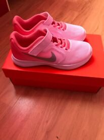 Girls trainers brand new in box