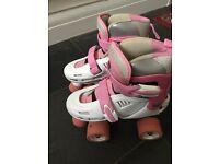 Girls roller skates adjustable size 12-2