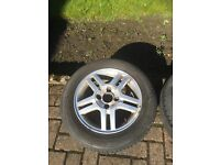 """Ford Focus 15"""" Alloy Wheel and Good Tyre"""