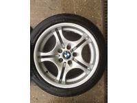 "BMW E46 17"" M Sport Alloys Wheels"