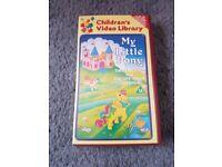 Selection of 4 retro/collectible VHS videos.