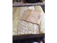 New bed runner & pillow cover
