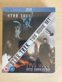 Star Trek 2 movie boxset new & sealed Blu-Ray