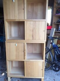 Solid pine IKEA storage unit - can be split into two units