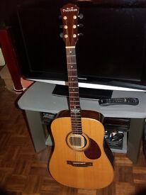 Freshman FA400D Solid Dreadnought Acoustic Guitar