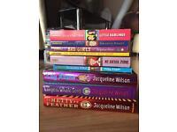 Jaqueline Wilson book bundle.