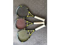 Tennis Rackets for Sale (any of one/two/or three)