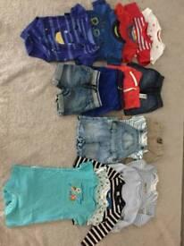Baby boy cloths 9-12 months