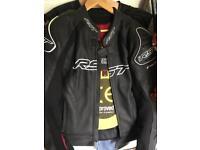 Leather jacket motorbike