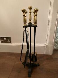 FREE - fireplace tool set